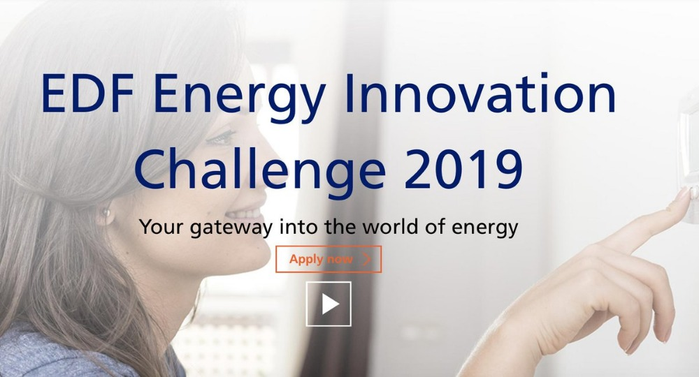 Energy Sector startups sought for EDF Energy's 2019 Pulse Innovation Challenge